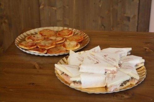 pizzette e tramezzini