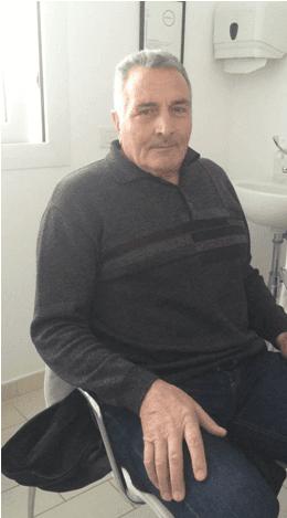 Paziente R. L. anni 67