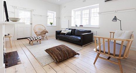 Interno di un salotto di design - Casa Nordica a Granarolo dell'Emilia