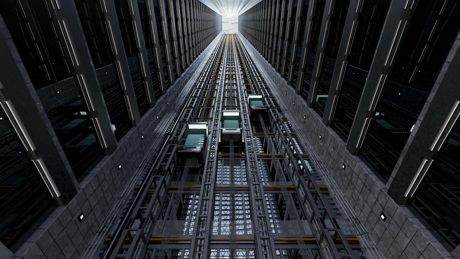 ascensori di edificio