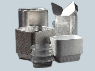 Contenitori alluminio laccati e ramati