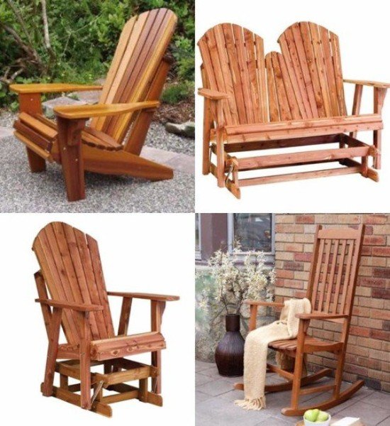 Custom Cedar Furniture