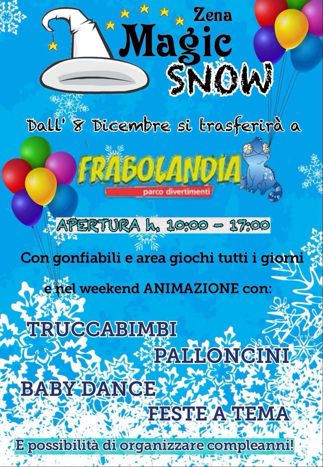 Frabolandia - Eventi Magic Zena Genova