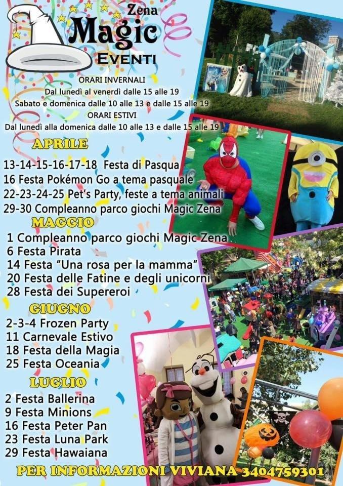 Eventi Magic Zena Genova