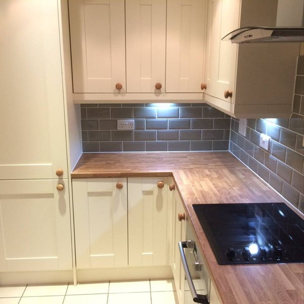 wooden kitchen worktop