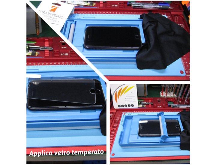applicazione vetro temperato