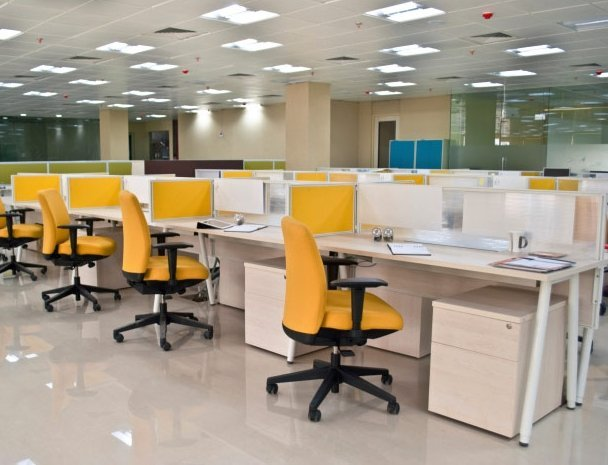 flair office furniture yellow chairs