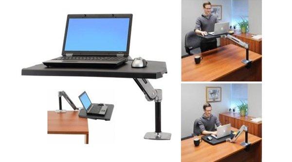 flair office furniture height adjustable desks work fit sit stand workstation