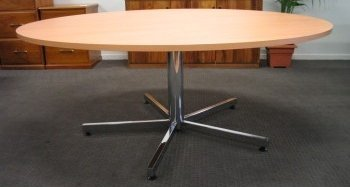 flair office furniture tables round timber table