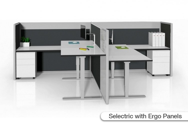 flair office furniture screen systems selectric with ergo panels