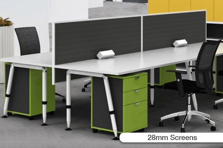 flair office furniture screen systems 28mm screens