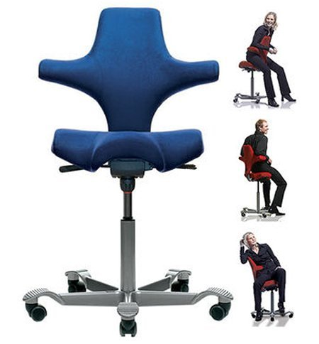 flair office furniture ergonomic chair capisco demo