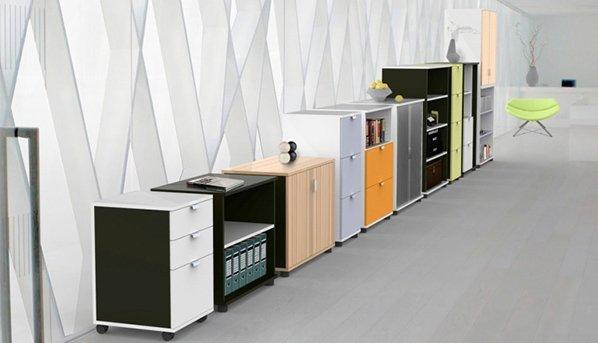 flair office furniture storage boxer range