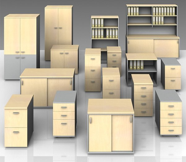 flair office furniture storage cupboards and drawers