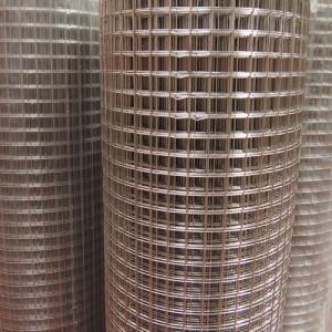 Stainless steel, welded mesh rolls