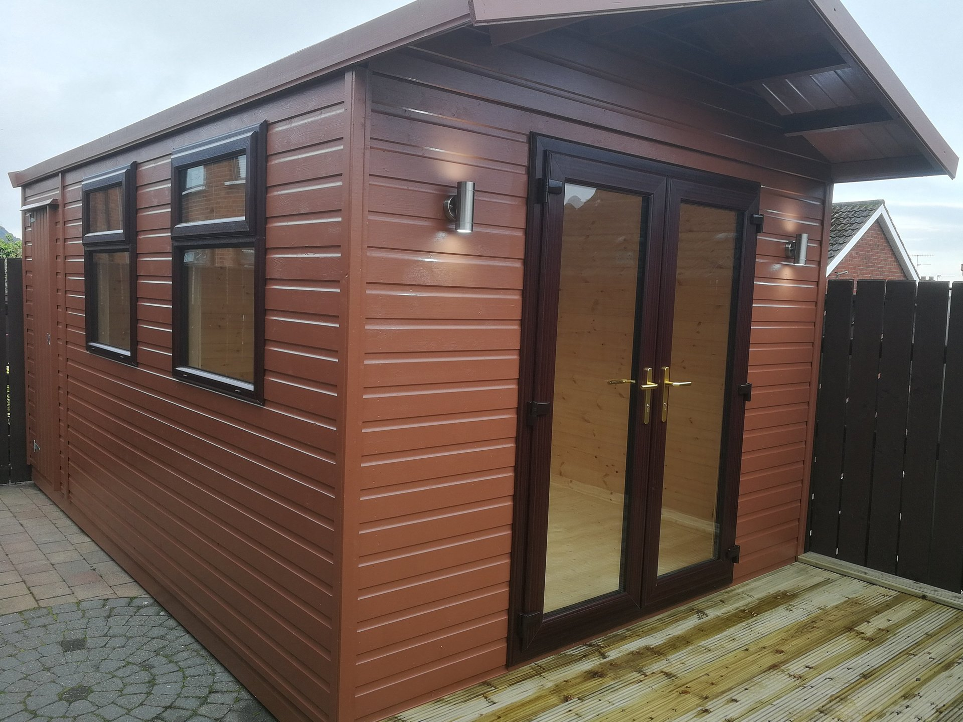 ireland sheds free on shed garden sale for assembled site delivery in