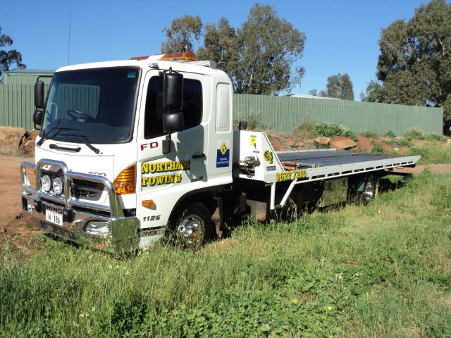 Northam Towing truck