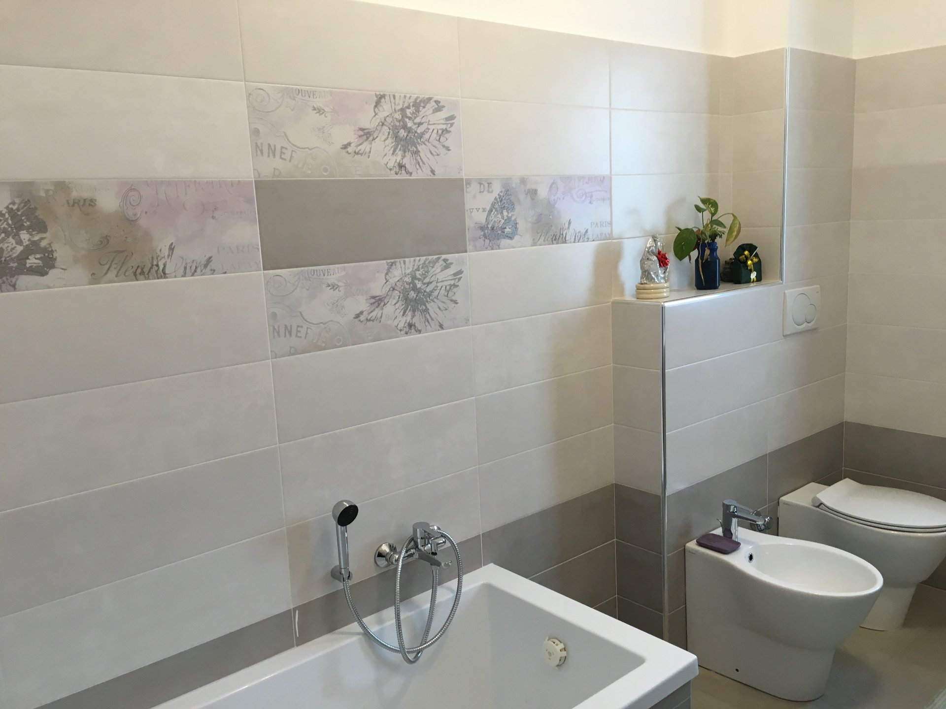 Vasca Da Bagno Con Muretto : Ristruttrazione alloggi e bagni arredo bagno pavimenti nichelino