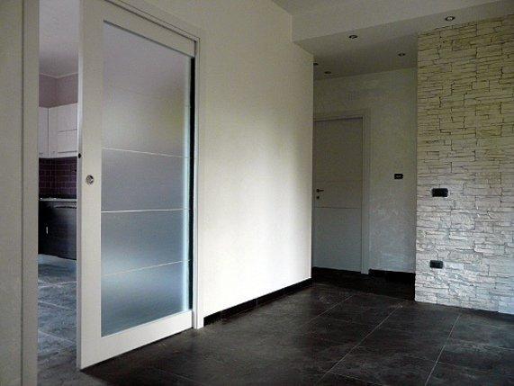 Ristruttrazione alloggi e bagni arredo bagno pavimenti nichelino moncalieri torino de - Porte d interni moderne ...