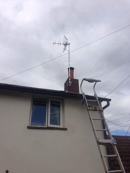 aerial installed