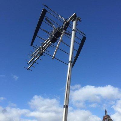 custom installed aerial
