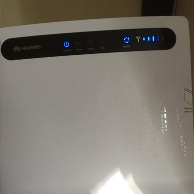 signal strength in the router