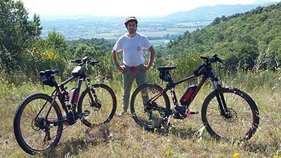 noleggio bici in Umbria