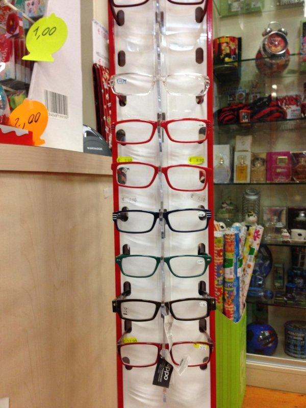 occhiali da lettura espresso