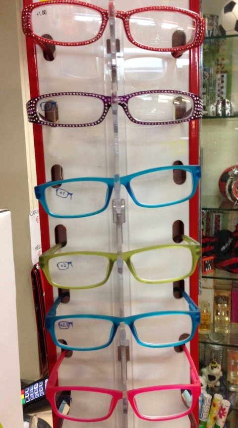 occhiali espresso