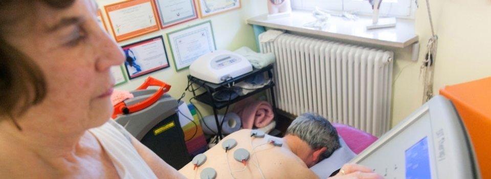 Terapia con elettrodi