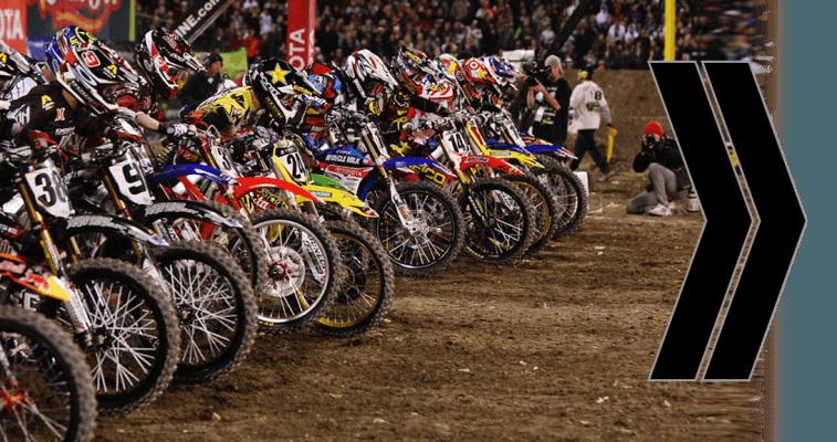 Moto Cross sportive