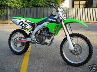 Kawasaki KX verde