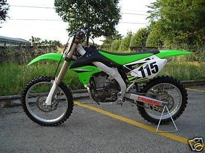 Moto da cross Kawasaki KX