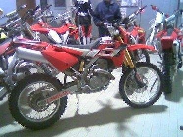 Gas Gas moto da cross