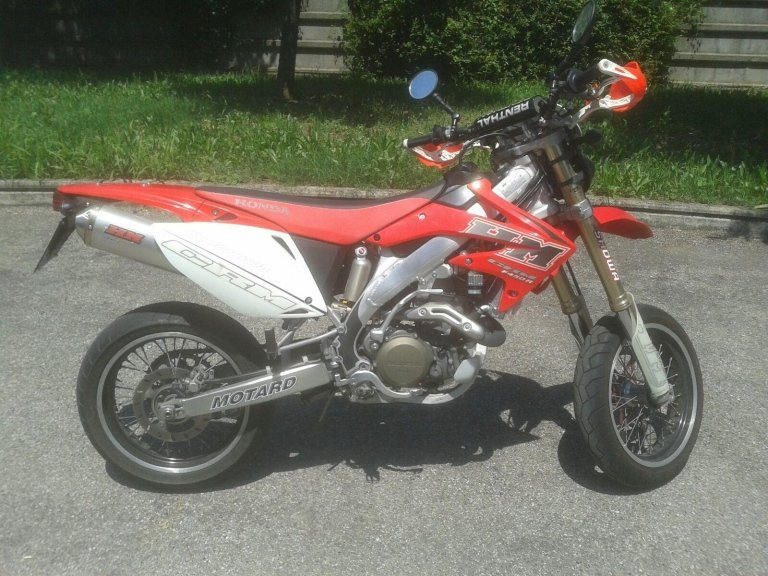 honda 450 CRF moto