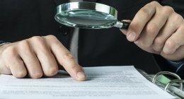 esame documenti, ricerca delle prove