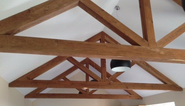 131 timber trusses for sale may raising hough builders for Wood roof trusses for sale