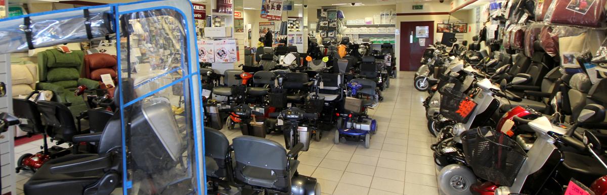 Elite Mobility showroom