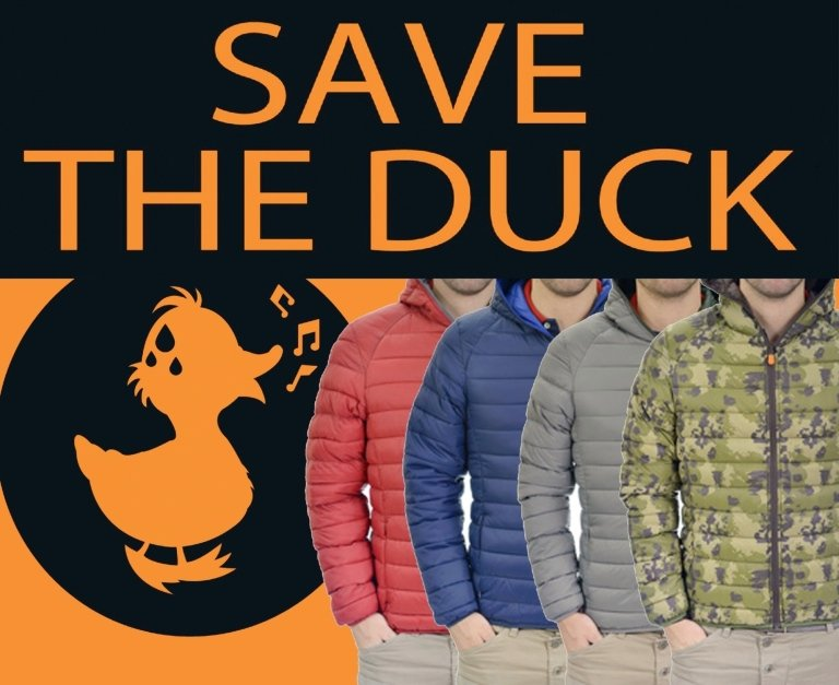 Save the duck down jackets