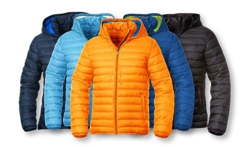 micro down jackets