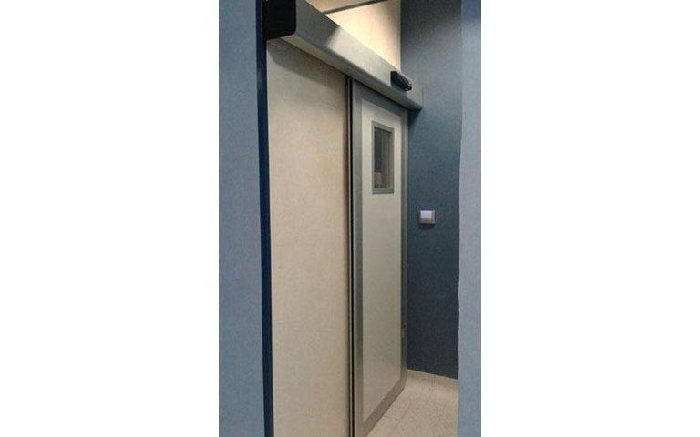 porta automatica sala operatoria