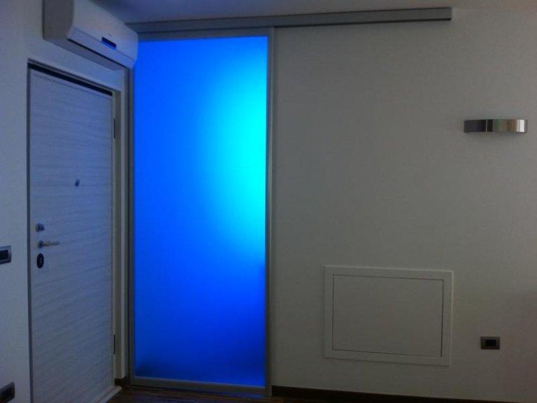 porta vetro scorrevole