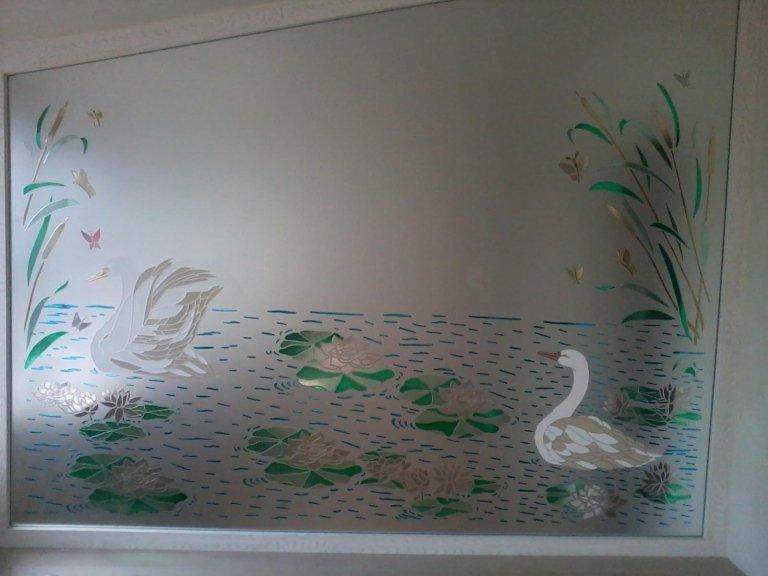 decorazione del vetro