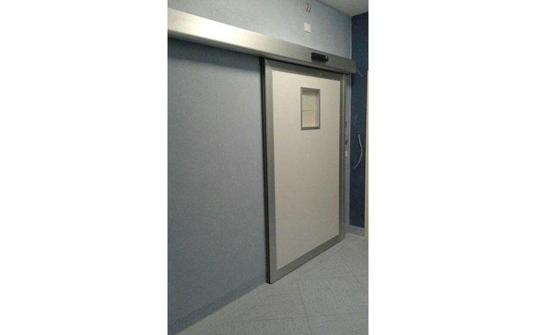 porta automatica ospedaliera