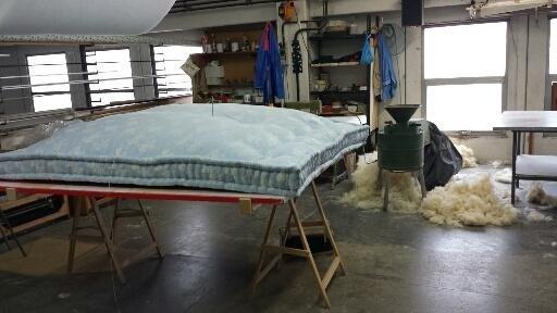 Trapuntatura materassi in lana