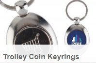 Trolley Coin Keyrings Walsall