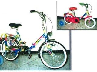 bici per disabili 4 ruote
