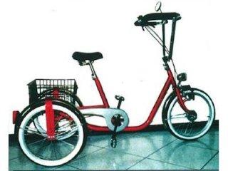 bici per disabili 3 ruote ribassata