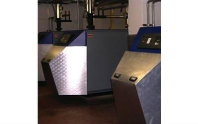 Immagine dell'unità centrale  Parte dell'impianto centrale di riscaldamento