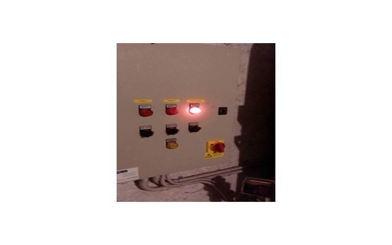 Luci di controllo pannello centrale